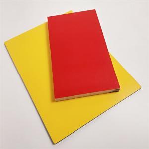 Best Fireproof Wood Grain Aluminium Composite Panel , Aluminium Advertising Boards wholesale