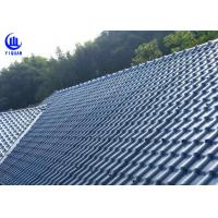 Best Anti Corrosion Asa Synthetic Resin Roof Sheet High Pavement Efficiency wholesale