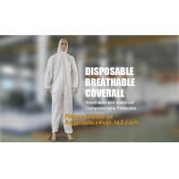 disposable breathable coverall,China Supplier for Disposable Non Woven Coverall Suit,disposable wholesale waterproof cov for sale