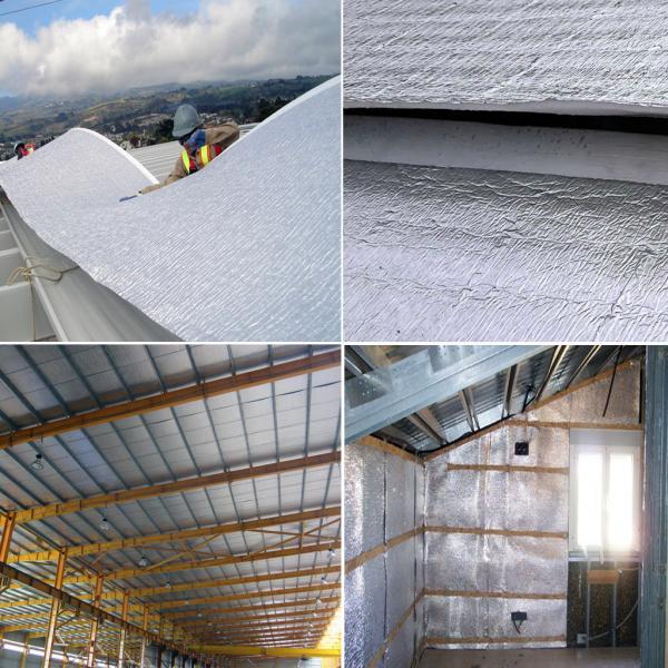 Fire Retardant XPE/EPE Foil Backed Foam Insulation Heat Resistant
