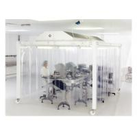 Buy cheap EBM Fan Lab Modular Softwall Cleanroom / Hospital Class 10000 Clean Room from wholesalers