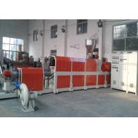 Buy cheap Pvc Pp Pet Waste Plastic Recycling Pelletizing Machine , Waste Plastic Extruder from wholesalers