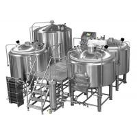 Buy cheap Manual Or Semi Automatic Beer Brew House Mirror Polishing Beer Making Equipment from wholesalers