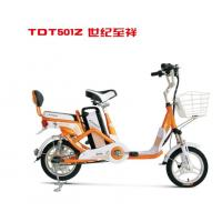 Best 14 Inch Commuting Long Distance Ladies Electric Bicycle with Pedal Assistant , 250W Motor wholesale
