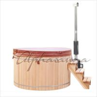 Quality Hand Made Wooden Barrel Northern Lights Cedar Hot Tubs 5 People Capacity wholesale