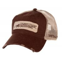 Buy cheap Back Cotton Twill Mesh Trucker Hats Embroidery Logo Available 52cm - 62cm from wholesalers