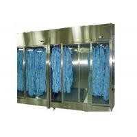 Buy cheap Stainless Steel 304 Sterile Garment Storage Cabinet For Hospital Clean Room from wholesalers