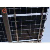 24V N Type Flexible Monocrystalline Solar Panel 380W High Fire Safety Class
