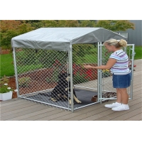 Dog Crates Kennels Single Door Dog Cage Small Dog Cages And Puppy Crates Indoor Outdoor, black for sale