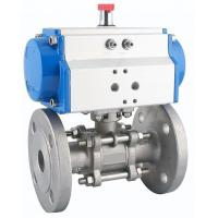 Best DA-140 Double Acting Rack And Pinion Pneumatic Actuator Corrosion Resistant wholesale