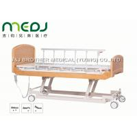 Best Semi Fowler Electric Hospital Bed MJSD04-09 Nursing Bed With Wood Board wholesale