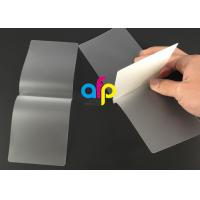 Best Card Membrane Clear Laminating Film / Pouch Laminating Film with Different Thickness wholesale