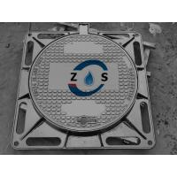 China 850x850  ductile iron manhole cover sewage cover ,rain water cover ,Morocco cover,EN124D400 for sale