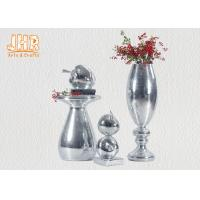 Buy cheap Small Mosaic Glass Fiberglass Apple With Square Base Sculpture Decoration from wholesalers