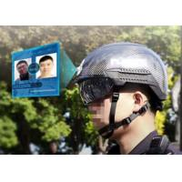 Buy cheap Smart Helmet Long Distance Temperature Measurement AI professional face from wholesalers