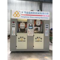 Energy - Saving Four Stations Safety Shoe Sole Making MachineWith Servo Motor for sale
