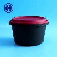 China ODM 1750ml Restaurant Hotel IML Plastic Containers Food Storage for sale
