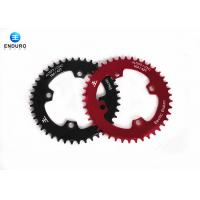 Best Black / Red Aluminum Alloy 42 Tooth Bicycle Chainring Enduro Bike Accessories wholesale