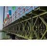 Best Temporary Steel Bridge Painted / Hot Dip Galvanized Prefabricated Foot Bridge wholesale