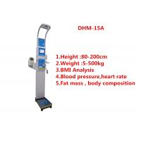 Best Medical BMI Coin operated body fat Composition height weight measuring machine with printing and blood pressure wholesale