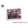 Framed 3D Lenticular Pictures Image / Poster Beautiful Landscape Patterns for sale