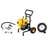 Best Portable Electric Drain Cleaning Machine with Wheels Can Clean 50 m wholesale