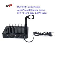 Best Multi Device 6 Port 5.0v 8.8a Usb Charging Station Apple Android Ipad Iwatch Use wholesale