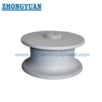 NS 2585 Open Type Casting Steel Roller Button Ship Mooring Roller Fairlead  Ship Mooring Equipment for sale