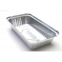 Plain Pizza Pan 0.2mm Aluminum Takeaway Containers for sale