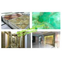 Best Low cost, easy installation PVC marble wall panel extrusion and laminating production line wholesale