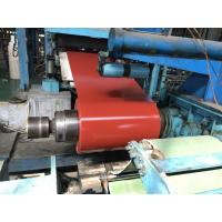 Best Venting Lines Steel Sheet Coil , 2H Pencil Hardness Pre Painted Gavlanized Steel Coil wholesale