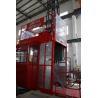 Best Double Cage Construction Material Hoist Lifting Equipment 36 M / Min 60HZ Ketong SC200 200TD wholesale