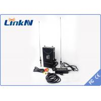 Best LinkAV C322 Manpack Cofdm Long Range Video Transmitter With Two Way Voice Intercom AES128 Encryption wholesale