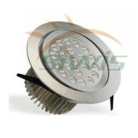 Best Indoor LED Recessed Downlights Silver Aluminum , 220V 21W 2100 Lm wholesale