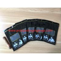 Best Custom Loge Cigar Moisturizing Zipper Plastic Bag Size W135 x L255mm wholesale