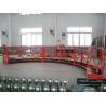 Quality 8 -10 m / min Aluminum Alloy Arc Rope Suspended Window Clean Platform wholesale