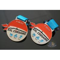 Best XXL CORSAIRE Die Cating Awards Custom Sports Medals, Zinc Alloy Material With Soft Enamel Colors wholesale