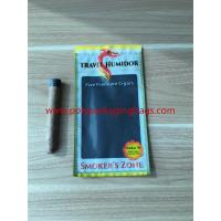Best Re - Sealable Zipper Moisturizing Cigar Humidor Bags With Printed Logo wholesale