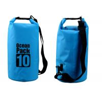 Best Outdoor Activities 10l Dry Storage Bags Watertight With Shoulder Strap wholesale