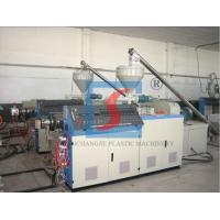 China PVC Plate Plastic Extrusion Line , PVC Ceiling Board Production Line on sale