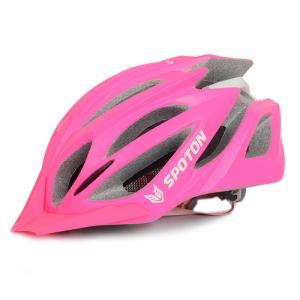 China Custom Bicycle Helmets With Lights , Red Blue UnisexBike Helmet CPSC Certified on sale