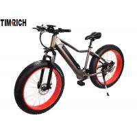 China Lithium Battery Electric Powered Bicycles TM-KV-2670 With Big Fat Tire 26 Inch on sale