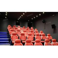 Best Fantastic Truck Electric System 5D Movie Theater With Metal Flat Screen wholesale