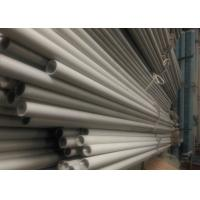Best Cold Rolled Galvanized Round Tubing , Customized Length Thin Wall Metal Pipe wholesale