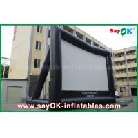Quality Giant 10 mL x 7 mH Projection Cloth Inflatable TV Screen CE / SGS Certificate wholesale