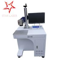 Best Keyboard Portable Fiber Laser Marking Machine Compact Without Consumptive Materials wholesale