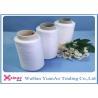 Dyeing Tube Spun Polyester Thread / Polyester Spun Yarns Eco-friendly and Raw White
