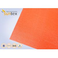 Best Suntex High  Silicone Rubber Coated Fiberglass Fabric 2 Sides Coating Heat Resistant Material wholesale