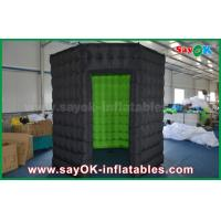 Quality White / Black Octagon Inflatable Photo Booth With Strong Wind Resistant 16 kg wholesale