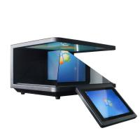 Best Android 3D Holographic Projection Screen , 19 Inch Hologram Pyramid Display wholesale
